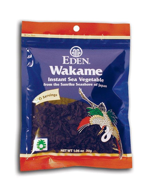 Eden Foods Wakame Flakes Instant - 10 x 1.06 ozs.