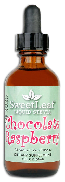 Sweet Leaf Stevia Clear Liquid Chocolate Raspberry - 2 ozs.