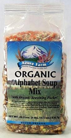 Azure Farm Alphabet Soup Mix Organic - 29.3 ozs.