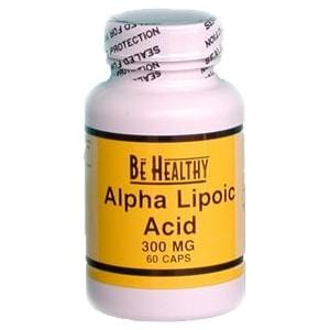 Be Healthy Alpha Lipoic Acid - 60 caps