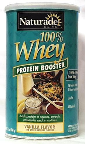 Naturade Whey Protein Powder Vanilla - 24 ozs.