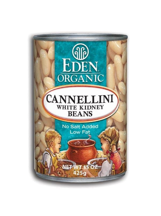 Eden Foods Cannellini (white kidney) Beans Organic - 12 x 15 ozs.