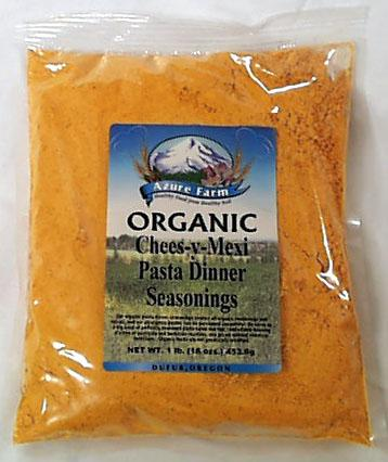 Azure Farm Chees-y-Mexi Pasta Dinner Seasoning Organic - 1 lb.