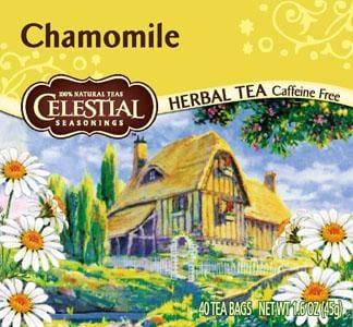 Celestial Seasonings Chamomile Tea (40 bags) - 6 x 1 box