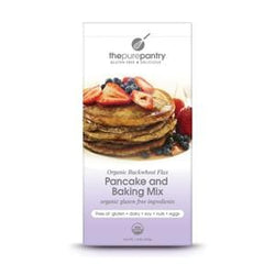 The Pure Pantry Buckwheat Flax Pancake Mix, Organic, Gluten Free - 6 x 1.4 lbs.