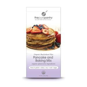 The Pure Pantry Buckwheat Flax Pancake Mix, Organic, Gluten Free - 1.4 lbs.