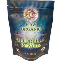 Earth Circle Organics Chlorella Powder, Raw Organic - 8 ozs.
