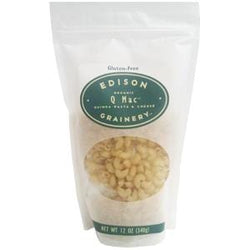 Edison Grainery Q-Mac, Quinoa Mac-n-Cheese - 6 x 12 oz
