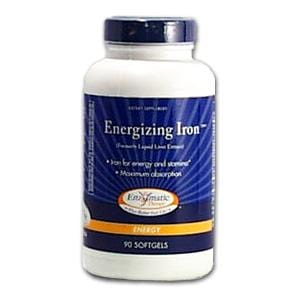 Enzymatic Therapy Energizing Iron - 90 softgels