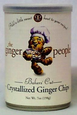 Ginger People Ginger Chips Baker's Crystallized - 12 x 7 ozs.