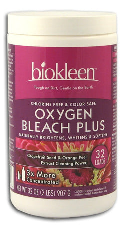 Biokleen Laundry Bleach Plus - 32 ozs.