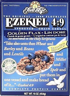 Food For Life Ezekiel Cereal Golden Flax Organic - 3 x 16 ozs.