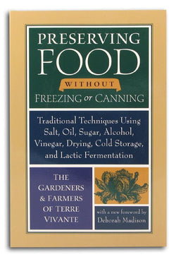 Books Preserving Food without Canning or Freezing - 1 book