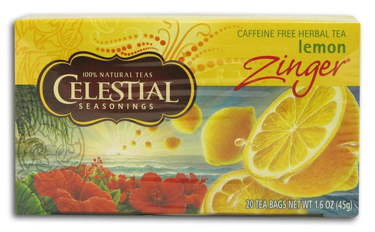 Celestial Seasonings Lemon Zinger Tea - 1 box