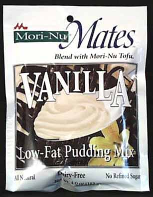 Mori Nu Vanilla Pudding & Pie Mix - 12 x 3.75 ozs.