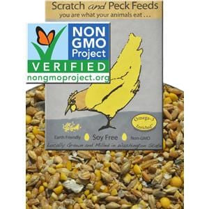 Scratch & Peck Feeds Naturally Free Poultry Layer Feed, 16%, Soy and Corn Free - 40 lb