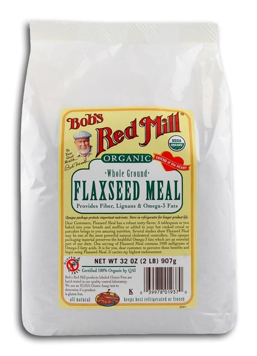 Bob's Red Mill Flaxseed Meal Organic - 32 ozs.