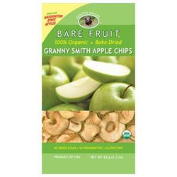 Bare Fruit Apple Chips, Granny Smith, Dried, Organic - 2.2 ozs.