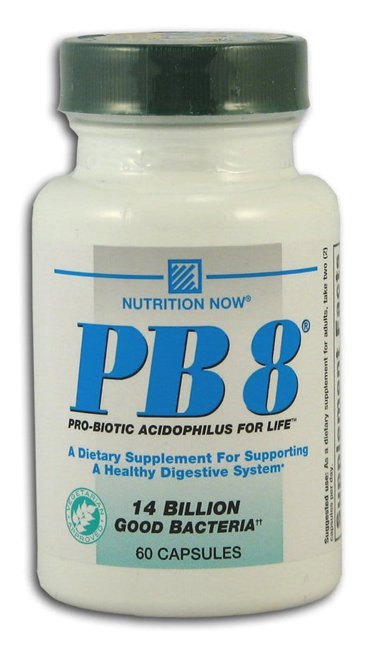 Nutrition Now PB 8 Acidophilus Vegetarian - 60 tablets