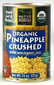 Native Forest Pineapple Crushed Organic - 6 x 14 ozs.