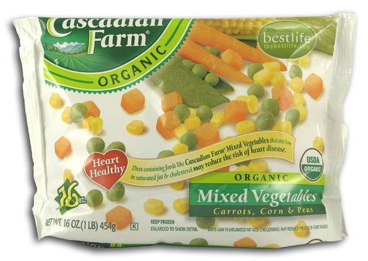 Cascadian Farm *Mixed Vegetables Frozen Organic - 12 x 16 ozs.