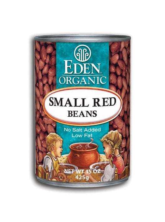 Eden Foods Small Red Beans Canned Organic - 12 x 15 ozs.