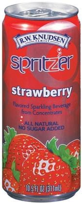 Knudsen Strawberry Spritzer - 4 x 10.5 ozs.