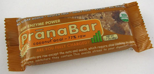 Rise Bar Energy Bars Coconut Acai Organic - 3 x 1.6 ozs.