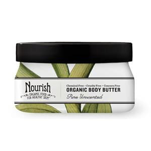 Nourish Body Butter, Unscented, Organic - 12 x 3.6 ozs.