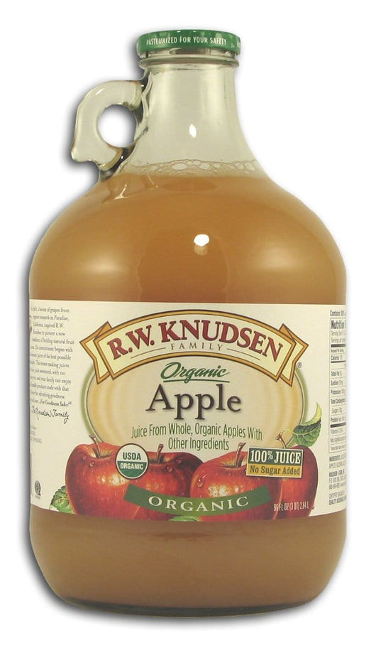 Knudsen Apple Juice Organic - 6 x 96 ozs.