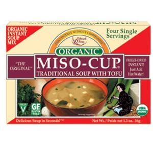 Edward & Sons Traditional Miso-Cup with Tofu - 12 x 1.3 ozs.