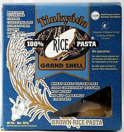 Tinkyada Brown Rice Grand Shell - 8 ozs.