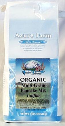 Azure Farm Multi-Grain Pancake Mix Organic - 5 lbs.