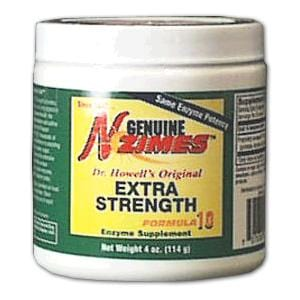 Enzymes Inc. Genuine N-Zimes Original Formula Extra Strength Powder - 4 ozs.