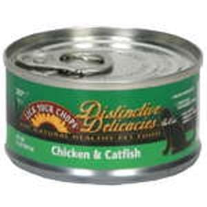 Lick Your Chops Cat Food, Canned, Chicken & Catfish - 3 ozs.