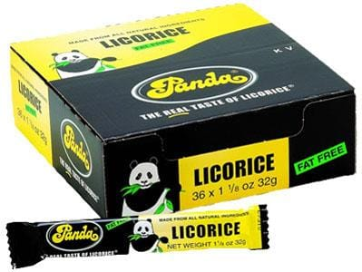 Panda Licorice Bar - 36 x 1 oz.