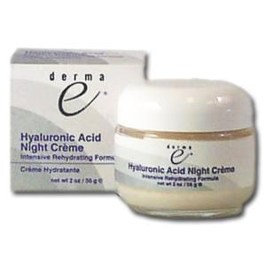 Derma E Hyaluronic Acid NightCreme Intensive - 2 ozs.