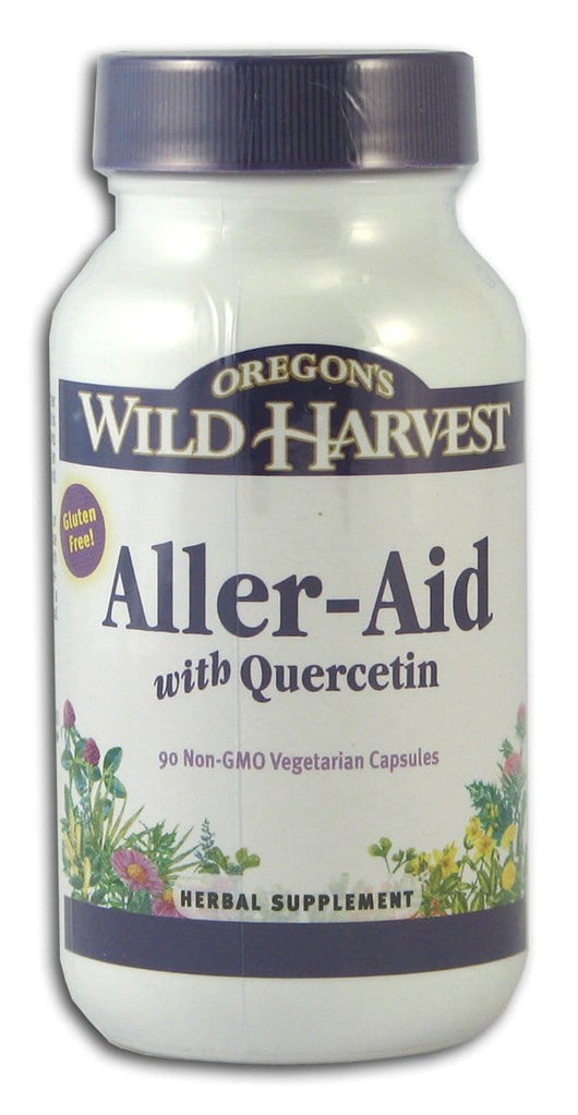 Oregon's Wild Harvest Aller-Aid with Quercetin - 90 veg caps