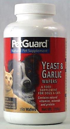 PetGuard Yeast & Garlic Wafers for Dogs & Cats - 320 ct.