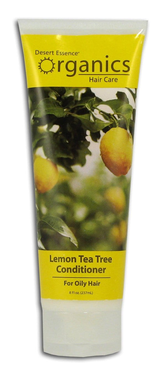 Desert Essence Lemon Tea Tree Conditioner Organic - 8 ozs.