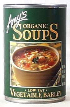 Amy's Vegetable Barley Soup Organic - 12 x 14.1 ozs.