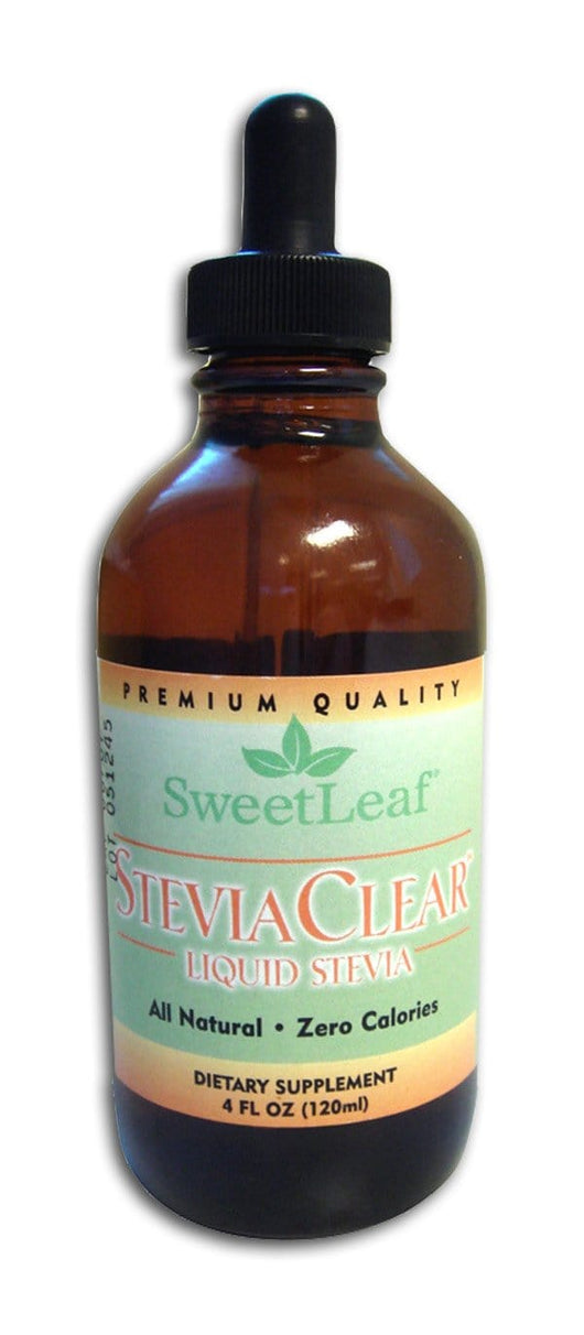 Sweet Leaf Stevia Extract Clear Liquid - 4 ozs.