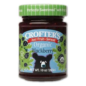 Crofter's Blackberry Just Fruit Spread Organic - 10 ozs.