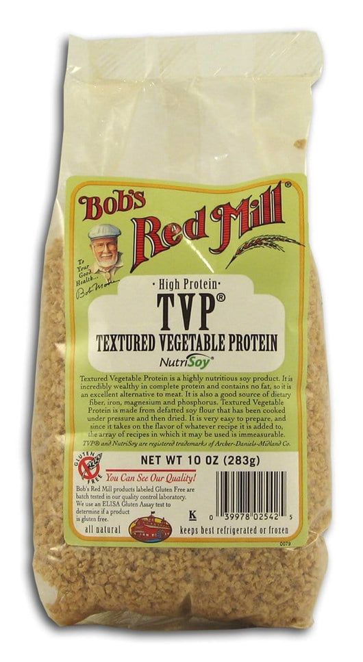Bob's Red Mill TVP Textured Vegetable Protein - 4 x 10 ozs.