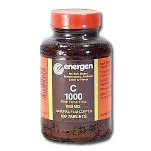Energen C-1000 with Rosehips - 100 tablets