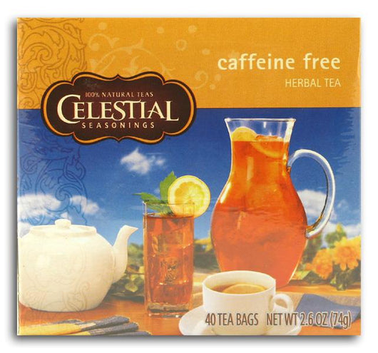 Celestial Seasonings Caffeine-Free Tea (40-bags) - 1 box