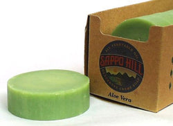 Sappo Hill Soap Bar Soap Aloe Vera (Green) - 3.5 ozs.