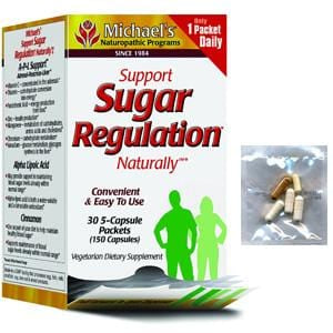 Michael's Naturopathic Programs Support Sugar Regulation Naturally - 30 pks.