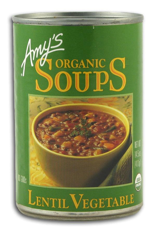 Amy's Lentil Vegetable Soup Organic - 12 x 14.5 ozs.