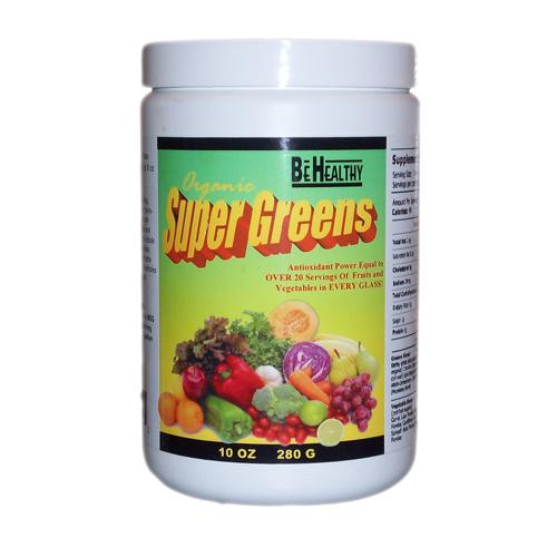 Be Healthy Be Healthy Greens Organic - 10 ozs.